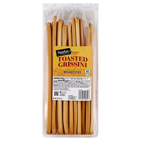 Signature SELECT Breadsticks Grissini Toasted - 8 Oz