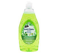 Signature SELECT/Home Dishwashing Liquid Green Apple Bottle - 24 Fl. Oz.