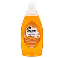 Signature SELECT/Home Dishwashing Liquid & Hand Soap Ultra Concentrated Orange Scent - 24 Fl. Oz.