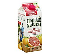 Floridas Natural Ruby Red Grapefruit Juice 100% Chilled - 52 Fl. Oz.