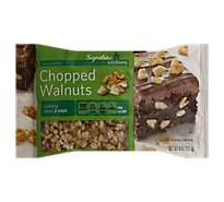 Signature Kitchens Walnuts Chopped - 8 Oz