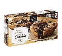 Signature SELECT Cookie Molten Chocolate Chip - 8 Oz