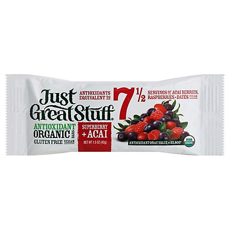 Just Great Stuff Organic Superberry Acai - 1.5 Oz