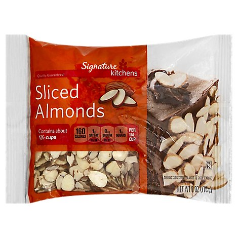 Signature Kitchens Almonds Sliced - 6 Oz