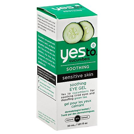 Yes To Cucumbers Eye Love Cucumbers Soothing Eye Gel - 1.01 Fl. Oz.