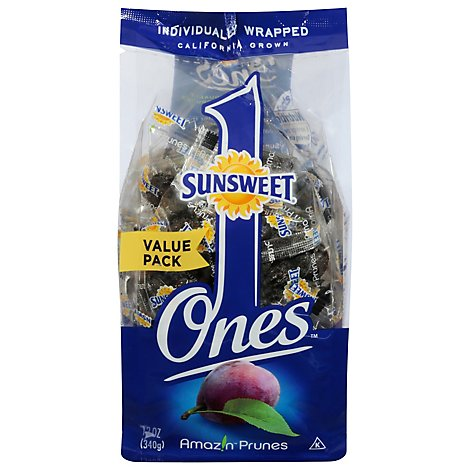 Sunsweet Ones Prunes Value Pack - 12 Oz