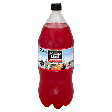 Minute Maid Juice Fruit Punch - 2 Liter