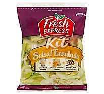 Fresh Express Salad Kit Salsa Ensalada Prepacked - 11.9 Oz