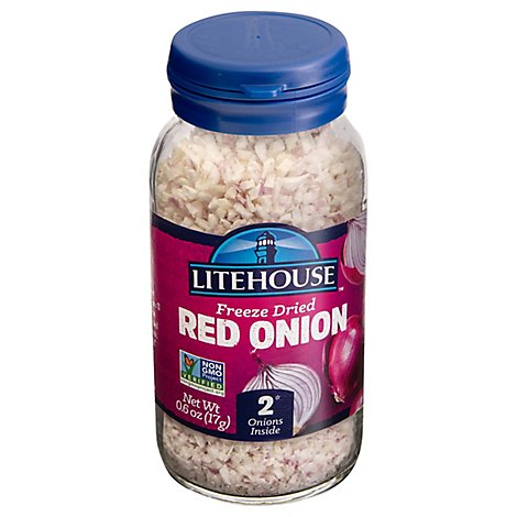 Litehouse Herbs Onion Red Instantly Fresh - 0.6 Oz