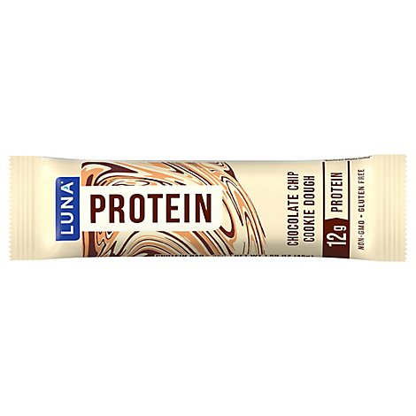 Luna Protein Bar Chocolate Chip Cookie Dough - 1.59 Oz