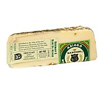 Sartori Rosemary & Olive Oil Asiago Cheese Wedge - 5.3 Oz.