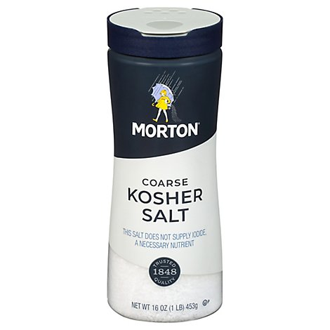 Morton Salt Kosher Coarse - 16 Oz