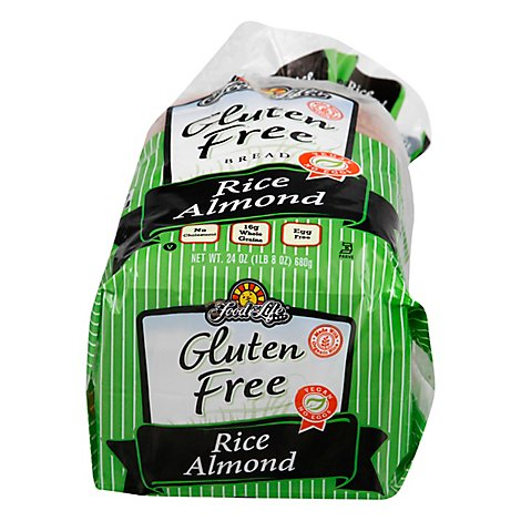 Food For Life Bread Wheat & Gluten Free Rice Almond - 24 Oz