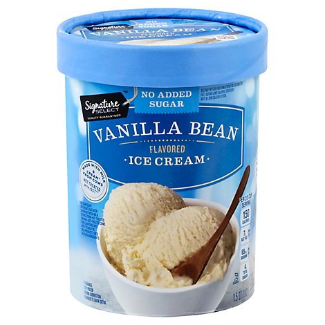 Signature SELECT Ice Cream Low Carb Vanilla Bean - 1.5 Quart