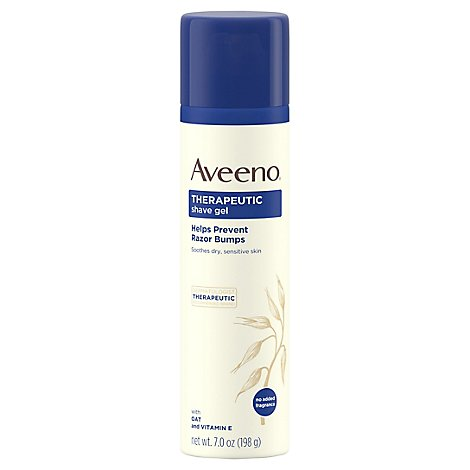 Aveeno Active Naturals Shave Gel Therapeutic - 7 Oz