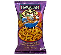 Hawaiian Snack Rings Onion Sweet Maui - 4 Oz