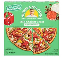Newmans Own Pizza Thin & Crispy Supreme Frozen - 14.7 Oz