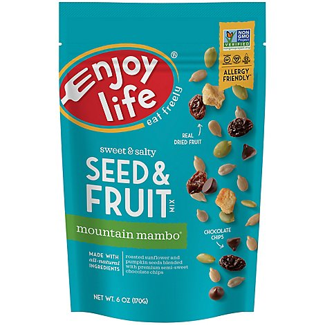 Enjoy Life Not Nuts Mt Mambo Trl Mix - 6 Oz