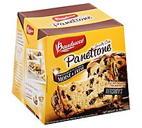 Bauducco Panettone With Hershey & Milk Chocolate - 26.2 Oz