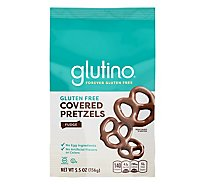 Glutino Chocolate Covered Pretzels Gluten Free - 5.5 Oz