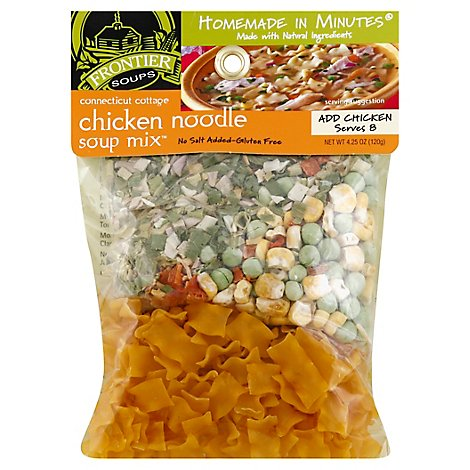Frontier Soups Soup Mix Homemade In Minutes Gluten Free Chicken Noodle - 4.25 Oz