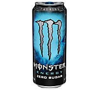Monster Energy Drink Absolutely Zero - 16 Fl. Oz.