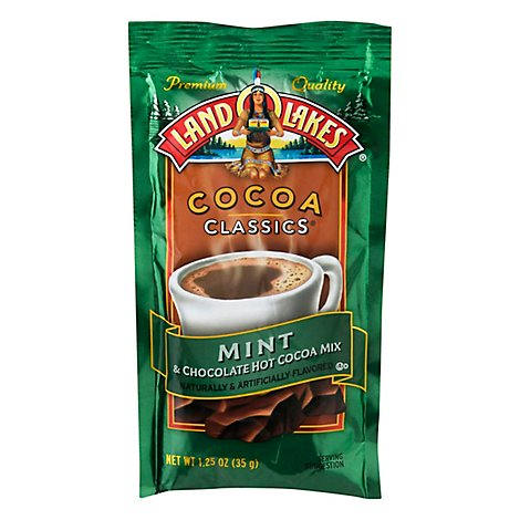Land O Lakes Cocoa Classics Cocoa Mix Hot Mint & Chocolate - 1.25 Oz