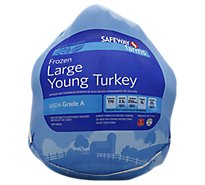 Signature Farms Whole Turkey Frozen - Weight Between 20-24 Lb