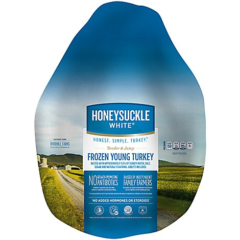 Honeysuckle White Whole Turkey Frozen - Weight Between 12-16 Lb