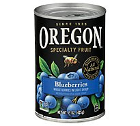 Oregon Blueberries in Light Syrup Whole - 15 Oz