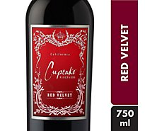 Cupcake Vineyards Wine Red Velvet - 750 Ml
