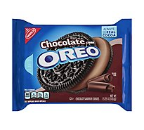 OREO Cookies Sandwich Chocolate Chocolate Creme - 15.25 Oz