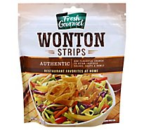 Fresh Gourmet Wonton Strips Authentic - 3.5 Oz