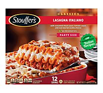 STOUFFERS Meal Party Size Lasagna Italiano with Meat & Sauce - 90 Oz