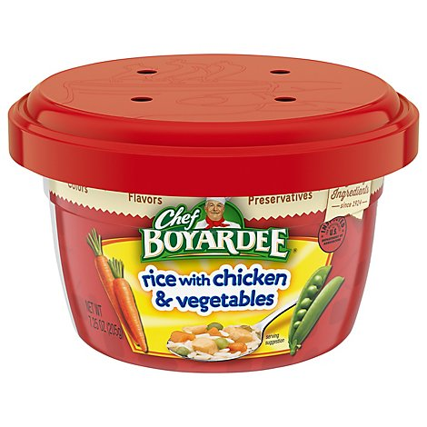 Chef Boyardee Pasta Rice with Chicken & Vegetables - 7.25 Oz