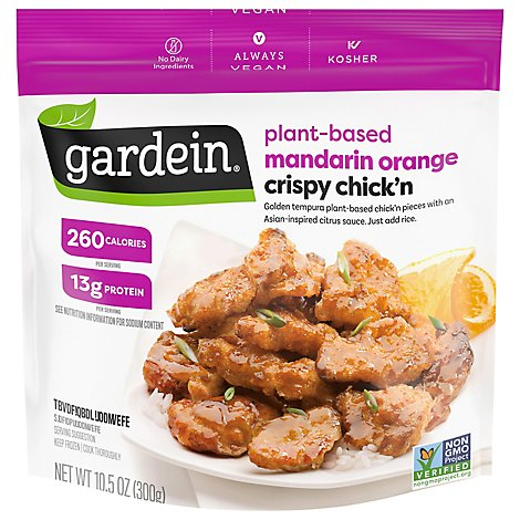 Gardein Crispy Chick N Mandarin Orange - 10.5 Oz
