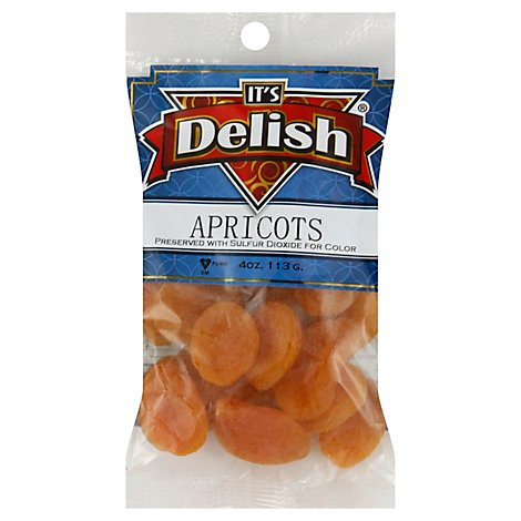 Its Delish Turkish Apricots - 4 Oz
