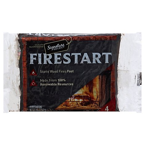 Signature SELECT Firestart Natural - 4 Count