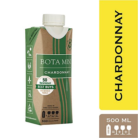 Bota Box Wine Chardonnay California - 500 Ml