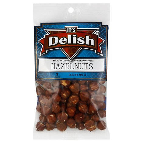 Its Delish Hazelnuts - 3.5 0z