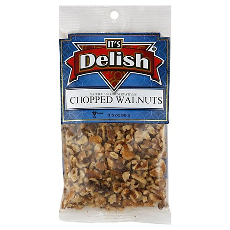 Its Delish Chopped Walnuts - 3.5 Oz