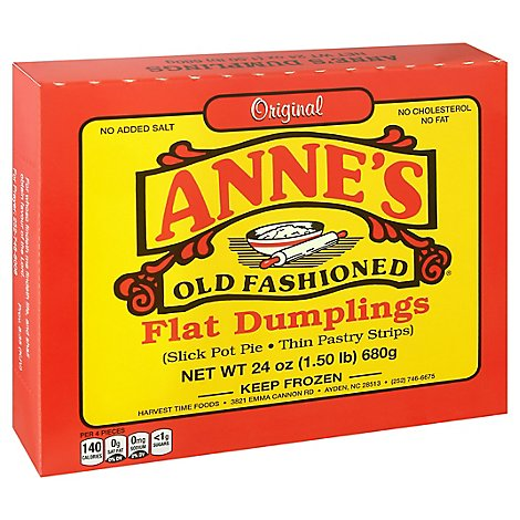 Annes Old Fashioned Flat Dumplings - 24 Oz