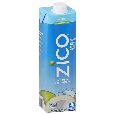 ZICO Coconut Water Natural Premium - 33.8 Fl. Oz.