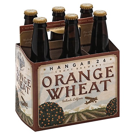 Hangar 24 Orange Wheat Bottles - 6-12 Fl. Oz.