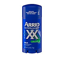 Arrid XX Antiperspirant Deodorant Solid Ultra Fresh - 2.7 Oz