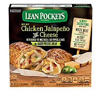 Lean Pockets Sandwiches Pretzel Bread Chicken Jalapeno And Cheese - 9 Oz