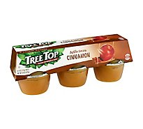 Tree Top Apple Sauce Cinnamon Cups - 6-4 Oz