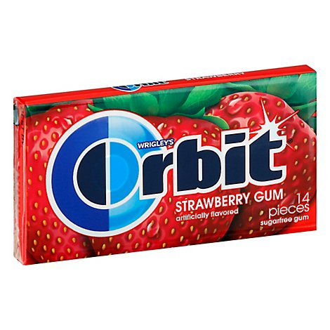 Orbit Gum Sugarfree Strawberry Remix - 14 Count