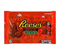 Reeses Peanut Butter Trees Milk Chocolate - 6 Count