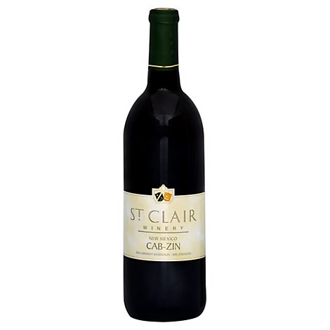 St Clair Winery Cab-Zin Wine - 750 Ml